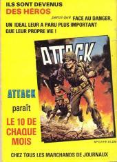 Verso de Battler Britton -462- Attaque de terreur