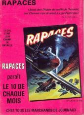 Verso de Battler Britton -469- Le Piège