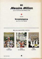 Verso de BD + -1- Messire Million !