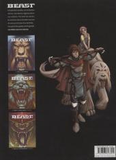 Verso de Beast -1- Yunze, le dieu gardien