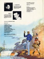 Verso de Bernard Prince -2c1980- Tonnerre sur Coronado