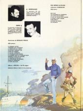 Verso de Bernard Prince -3c1980- La frontière de l'enfer