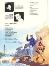 Verso de Bernard Prince -7c1984- La fournaise des damnés