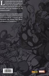 Verso de Best of Marvel -18- Vengeurs : La Guerre Krees/Skrulls