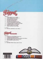 Verso de Biggles -7b- Le dernier Zeppelin