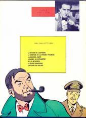 Verso de Blake et Mortimer (Historique) -2d70- Le Secret de l'Espadon 2