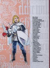 Verso de Blason d'Argent -13- Le retour du Croisé