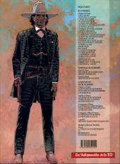 Verso de Blueberry (La Jeunesse de) -2Ind2001- Un yankee nommé Blueberry