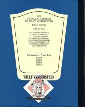 Verso de Bob et Bobette (Collection classique bleue) -8- La cavale d'or