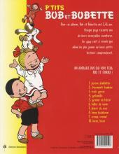 Verso de Bob et Bobette (P'tits) -10- Bisou, bisou