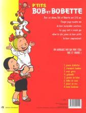 Verso de Bob et Bobette (P'tits) -8- Boum badaboum
