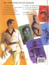 Verso de Bob Morane 4 (Lefrancq) -08- La vallée infernale