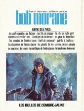 Verso de Bob Morane 2 (Dargaud) -25- Les bulles de l'ombre jaune