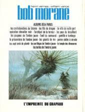 Verso de Bob Morane 2 (Dargaud) -26- L'empreinte du crapaud