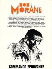 Verso de Bob Morane 3 (Lombard) -29- Commando épouvante