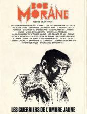 Verso de Bob Morane 3 (Lombard) -30- Les guerriers de l'ombre jaune