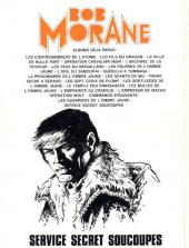 Verso de Bob Morane 3 (Lombard) -31- Service secret soucoupes