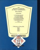 Verso de Bob et Bobette (Collection classique bleue) -7- Les masques blancs