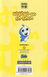 Verso de Bobobo-bo Bo-bobo -9- Tome 9