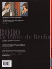 Verso de Boro, reporter photographe (Les Aventures de) -2- La Dame de Berlin II