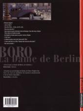 Verso de Boro, reporter photographe (Les Aventures de) -1- La Dame de Berlin
