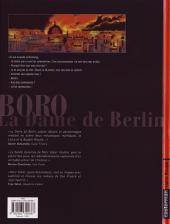 Verso de Boro, reporter photographe (Les Aventures de) -3- La Dame de Berlin III