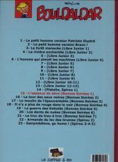 Verso de Bouldaldar et Colégram -14- L'essence de sève (Bonnes Soirées 1)