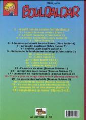 Verso de Bouldaldar et Colégram -17- Il n'y a plus de rouge dans le noir (Bonnes Soirées 4)