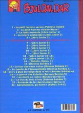 Verso de Bouldaldar et Colégram -6- L'homme qui aimait les machines (Libre Junior 4)