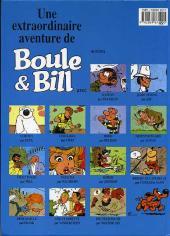 Verso de Boule et Bill -HS02a- Bill a disparu !