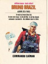 Verso de Bruno Brazil -2a1976'- Commando Caïman