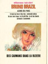 Verso de Bruno Brazil -7'- Des caïmans dans la rizière