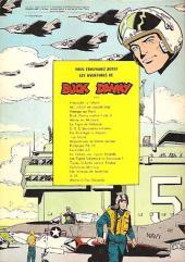 Verso de Buck Danny -23a1966- Mission vers la vallée perdue