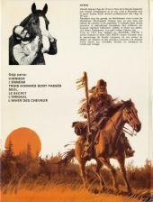 Verso de Buddy Longway -7'- L'hiver des chevaux