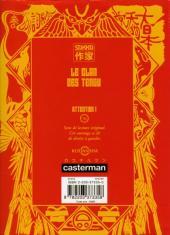 Verso de Le clan des Tengu -2- Tome 2