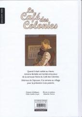 Verso de Le café des Colonies (Boitelle et) - Le Café des Colonies