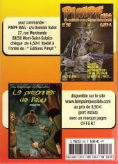 Verso de Capt'ain Swing! (2e série - Mon Journal) -Rec55- Album N°55 (du n°165 au n°167)
