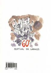 Verso de Les carnets de Joann Sfar -9- Croisette