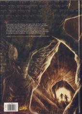 Verso de Les carnets secrets du Vatican -3- Sous la montagne