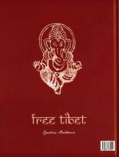 Verso de Caroline Baldwin -14TL- Free Tibet