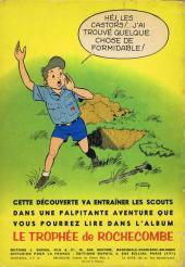 Verso de La patrouille des Castors -5- La bouteille à la mer