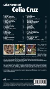 Verso de BD World - Celia Cruz