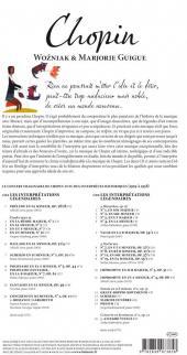 Verso de BD Classique -5- Chopin