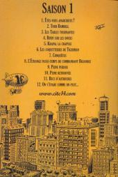 Verso de Cité 14 -12- Saison 1 : 12. On s'évade comme on peut...