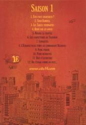 Verso de Cité 14 -4- Saison 1 : 4. Rififi sur les docks