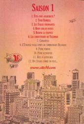 Verso de Cité 14 -6- Saison 1 : 6. Les Coquetteries de Tigerman