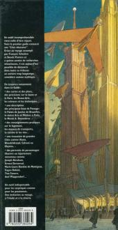 Verso de Les cités obscures -H08- Le guide des Cités