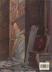 Verso de Les cités obscures -H02d09- L'archiviste