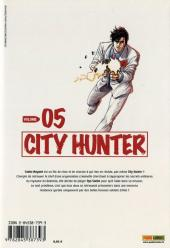 Verso de City Hunter (édition de luxe) -5- Volume 05