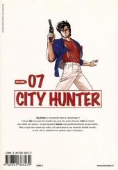 Verso de City Hunter (édition de luxe) -7- Volume 07
